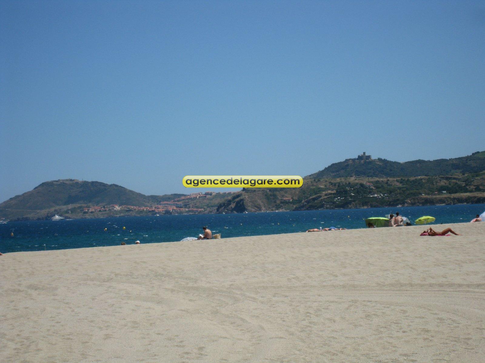 Apres le petit chemin, la plage... a quelques metres du logement...