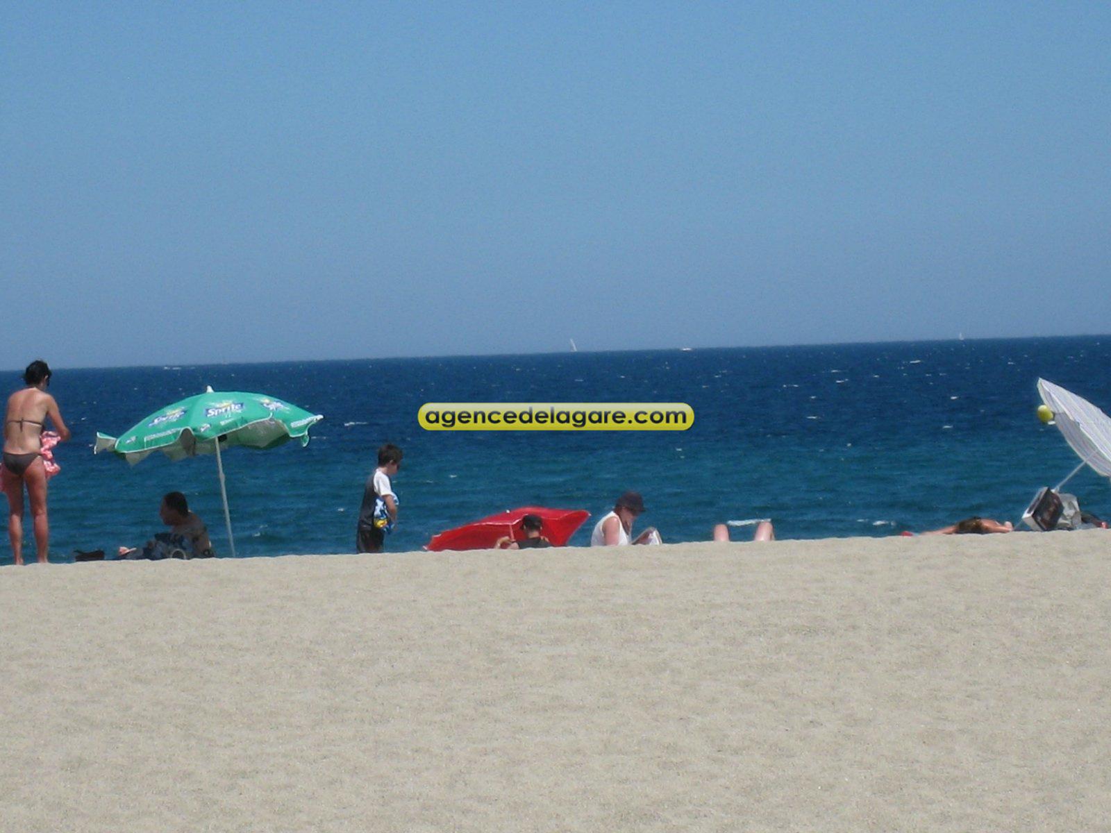 Le bain de mer est si proche...